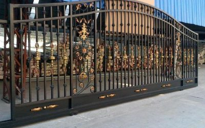 Ferforje Özel Otomatik Kapı